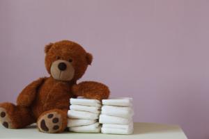 Baby-Grundausstattung kompostierbare windel
