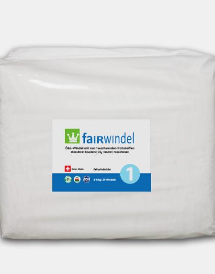 Fairwindel Newborn vegane ökowindel