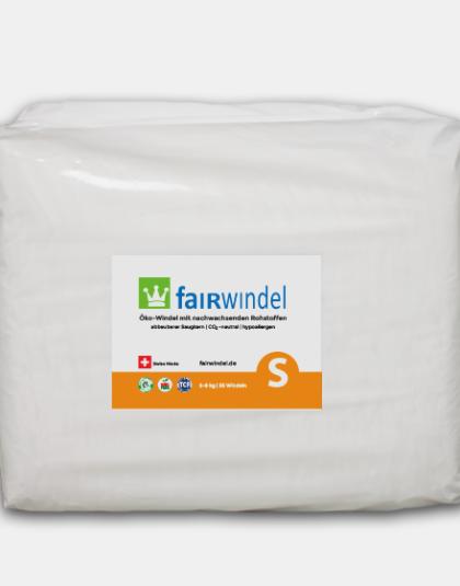 Fairwindel Gr. S vegane ökowindel kompostierbar