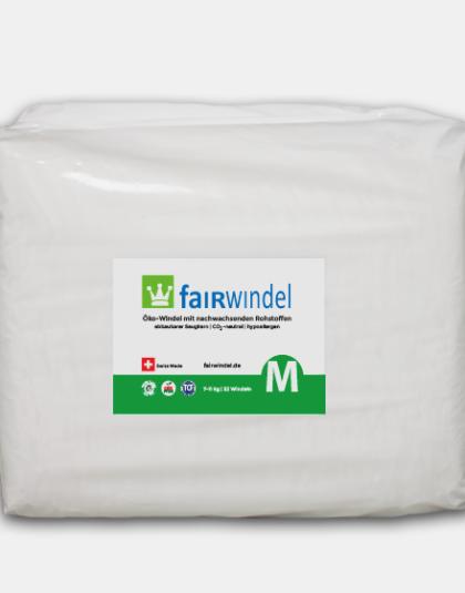 Fairwindel Gr. M vegane ökowindel kompostierbar