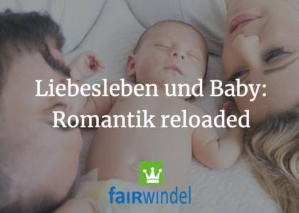 Liebesleben und Baby Romantik